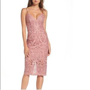 NWOT Bardot Lace Gia Pencil Dress